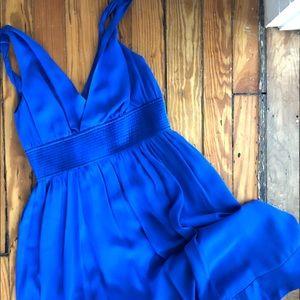 Anthropologie French Silk Dress